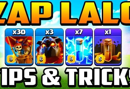 🔥 TH 13 ZAP LAVALOON ATTACK STRATEGY 🔥 | BEST Town Hall 13 Attacks 2020 | TH13 LaLo by Clash With Cory