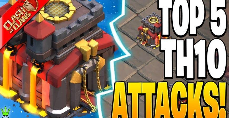 TOP 5 TH10 ATTACKS FOR CWL!! – Clash of Clans by Clash Bashing!!