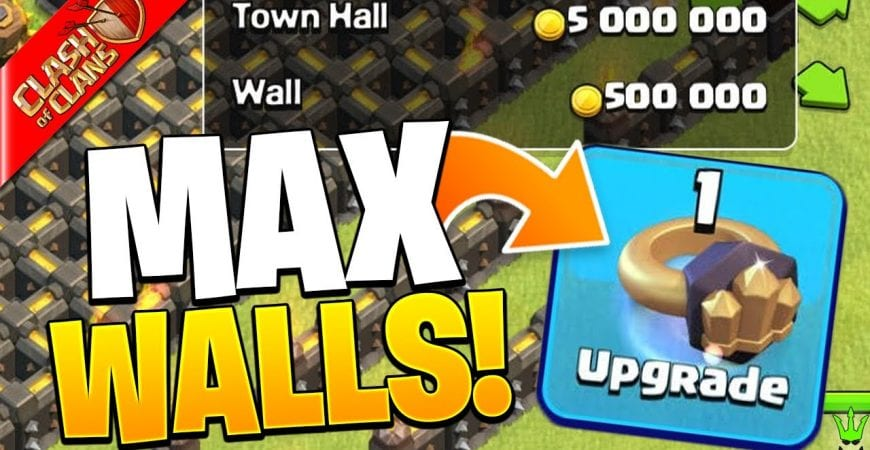 FINALLY *MAX* TH9 WALLS…NEXT STOP MAX DEFENSES! – Clash of Clans by Clash Bashing!!