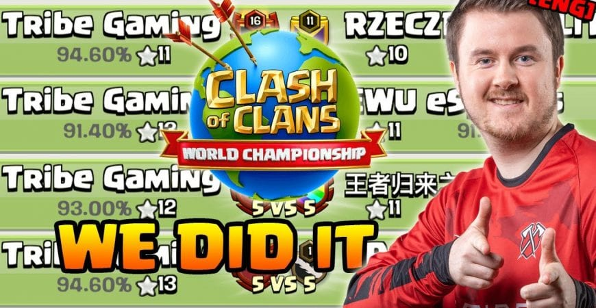 We did it | Tribe Gaming at the World Championship | #clashofclans by iTzu [ENG] – Clash of Clans