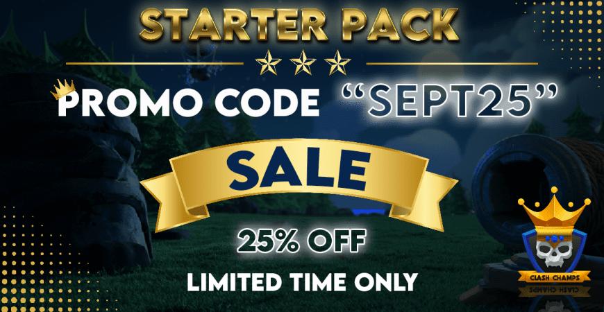 25% OFF PRO BASE STARTER PACKS!