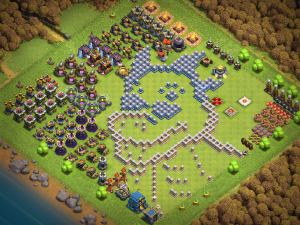 TH12 Dragon progress base