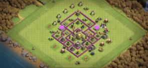 Th7 war and trophy push base