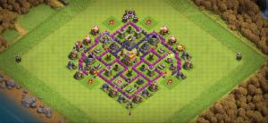 TH7 base, Trophies, farm.