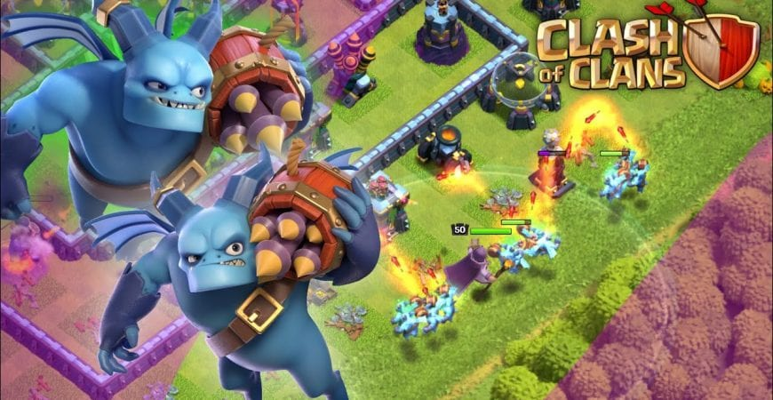 Super Minion in Action! New Clash of Clans Super Troop by Bisectatron Gaming