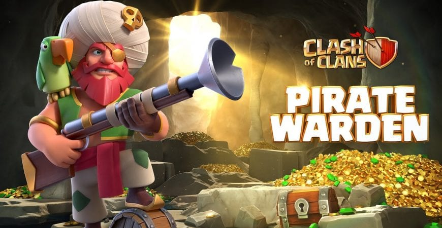 Plunder with the Pirate Warden! (Clash of Clans Season Challenges) by Clash of Clans