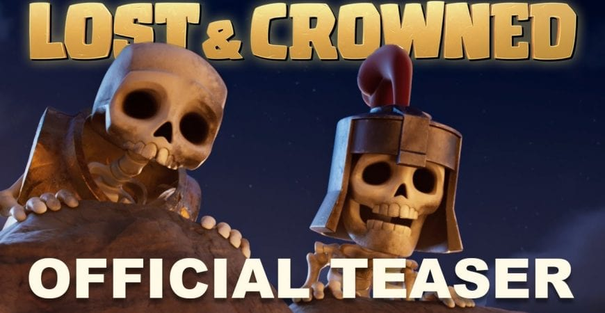 LOST & CROWNED | Official Teaser by Clash of Clans