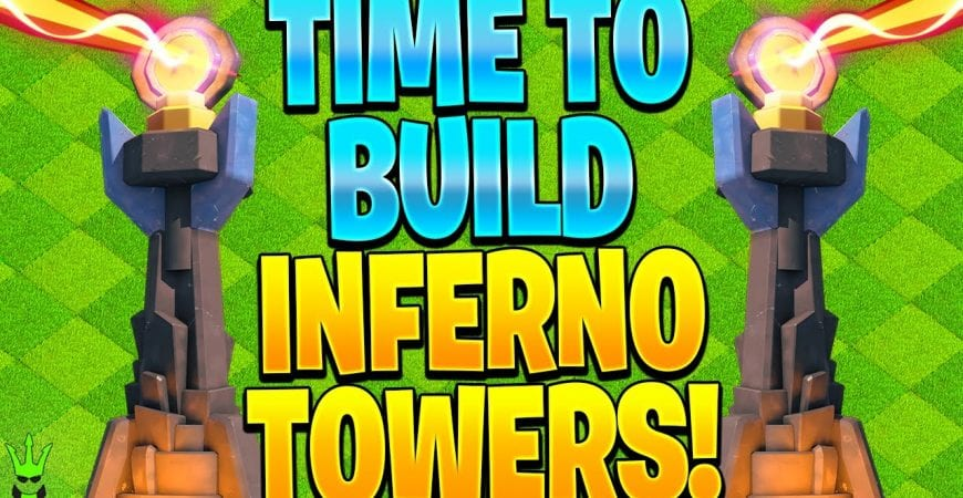 IT'S TIME TO BUILD THE INFERNO TOWERS WITH OUR CLAN GAME REWARDS! – Clash of Clans by Clash Bashing!!
