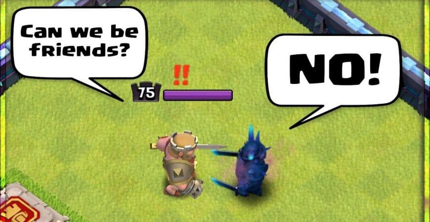 NEW MAX PEKKA vs. ALL HEROES!!! Clash of Clans Update by Sir Moose Gaming