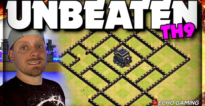 Champ Bases: This UNBEATEN Base Protects the Town Hall so well by ECHO Gaming