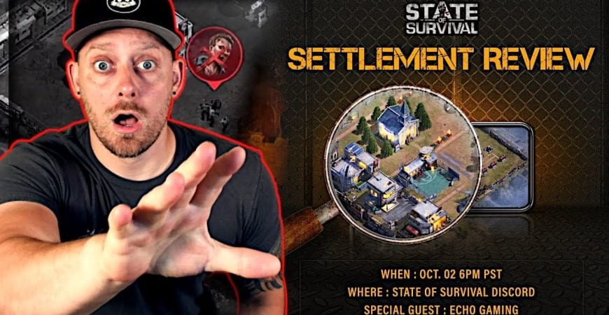 State of Survival Settlement Review by ECHO Gaming