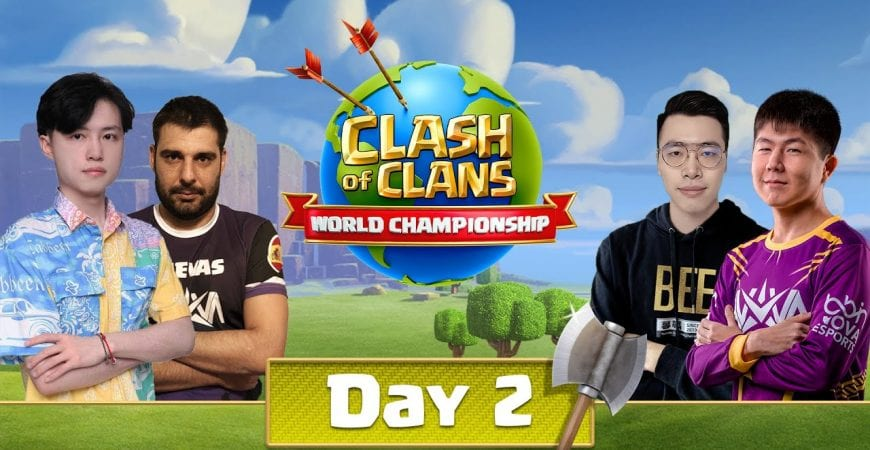 World Championship #5 Qualifier Day 2 – Clash of Clans by Clash of Clans