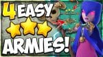4 Unstoppable Armies for Easy 3 Stars! The BEST TH11 Attack Strategies for War in Clash of Clans by Kenny Jo