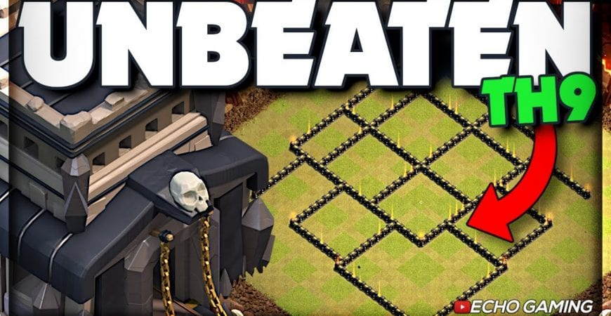 Champ Bases: This Town Hall 9 Base was Unbeaten in War by ECHO Gaming