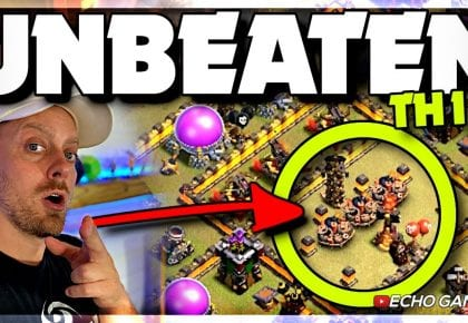 Champ Bases: This Unbeaten Town Hall 10 base has INSANE Traps by ECHO Gaming