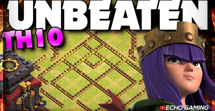 Champ Bases: Could you Beat this Unbeaten Town Hall 10 Base? by ECHO Gaming