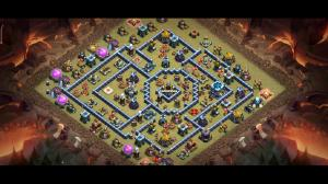 Th13 war base / check on yt 5th base u will get it