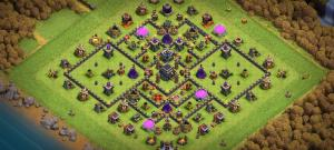 Th9 Anti-Queen Walk,  Trophy Base, Anti - 2 and 3 Stars.