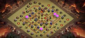 Th10 War base (no siege)