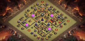 Zap Bait Troll Anti 3-Star War Base