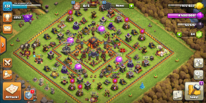 Th10 obsticle spawn base/Dark elixir farm