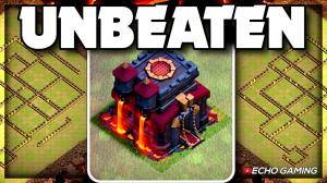 Beware of THIS Town Hall 10 Unbeaten Base by ECHO Gaming
