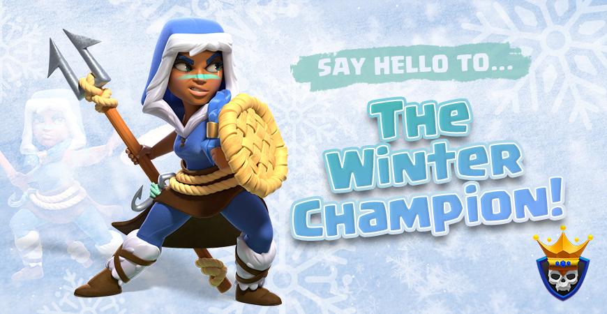December Hero Skin: The Winter Champion!