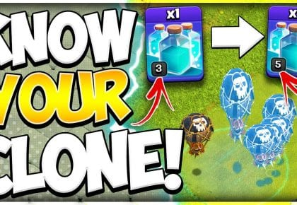 How Does The Clone Spell Work?! Upgrade it Now for the TH11 Electrone LaLoon in Clash of Clans by Kenny Jo