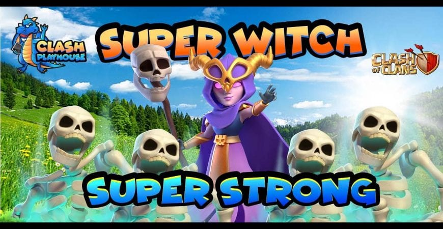 Super witch TH13 legend triples| Clash of Clans by Clash Playhouse