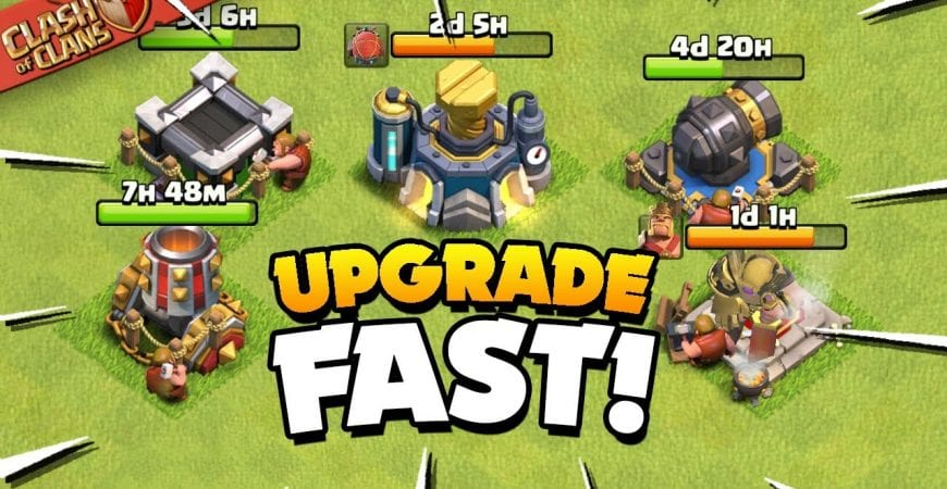 Secrets to Upgrade Your Base Fast (Clash of Clans) by Judo Sloth Gaming
