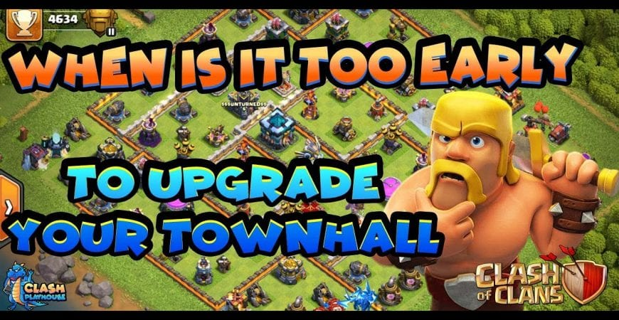To rush or not to rush your Town Hall | Clash of Clans by Clash Playhouse