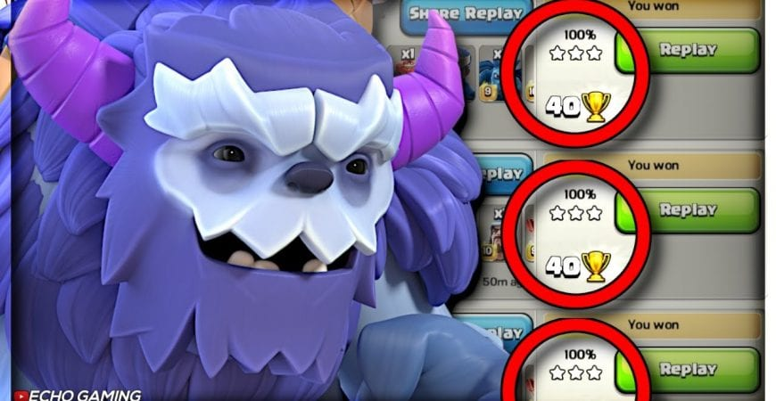 3 Star Every Time with This Attack Strategy in Legends League… Almost by ECHO Gaming