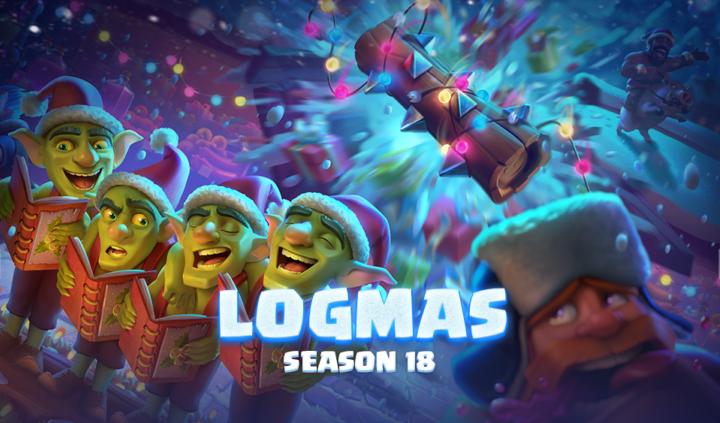 It's Logmas Season 18! by Clash Royale