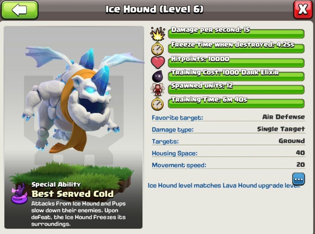 New Super Troop: The Ice Hound