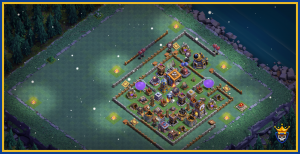 Extremely compact base for BH9