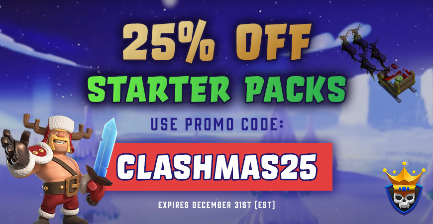 25% OFF Starter Packs! Christmas Special!