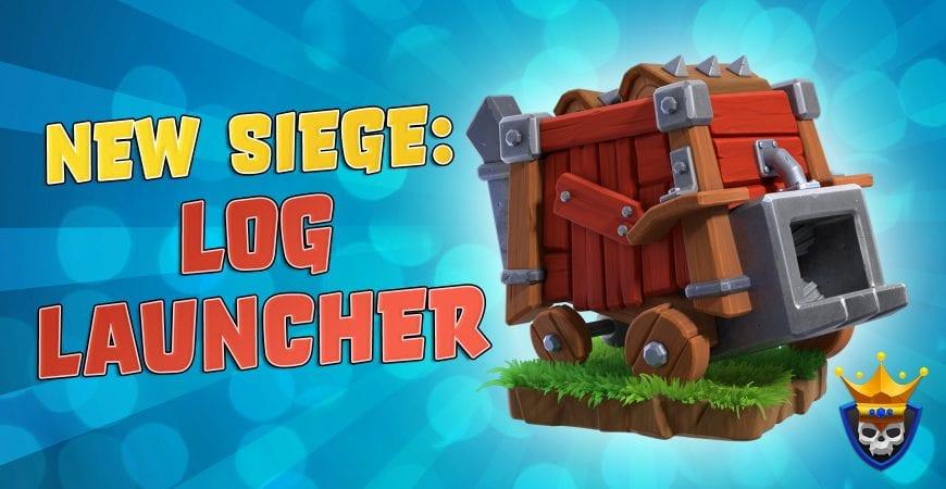 December Update: New Siege! The Log Launcher!