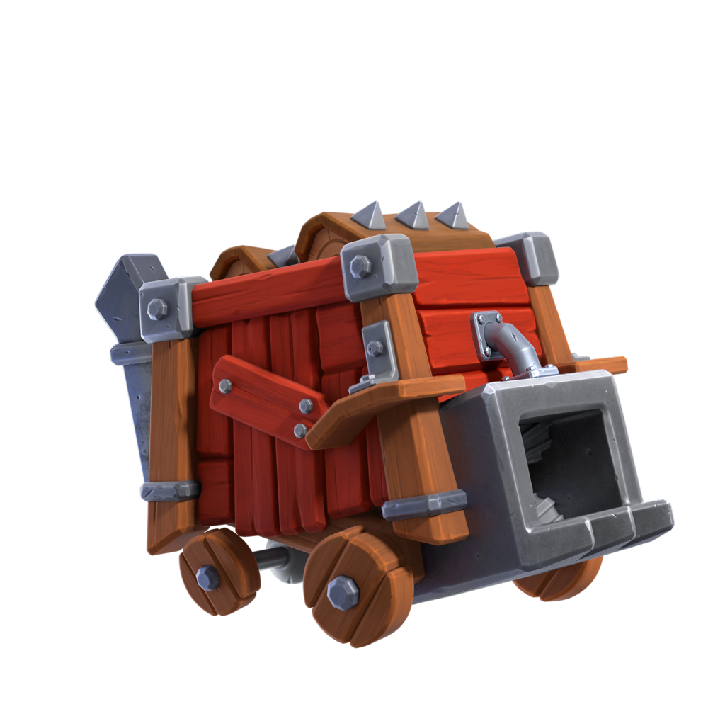 New Siege: The Log Launcher