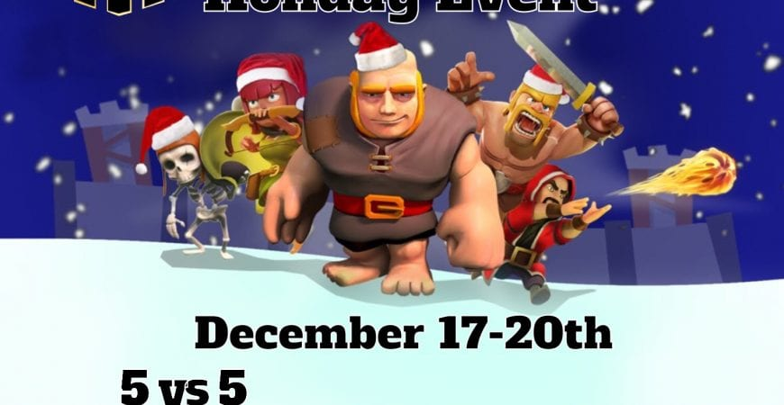 Th13 Clash Community: The Ornamental Holiday Event