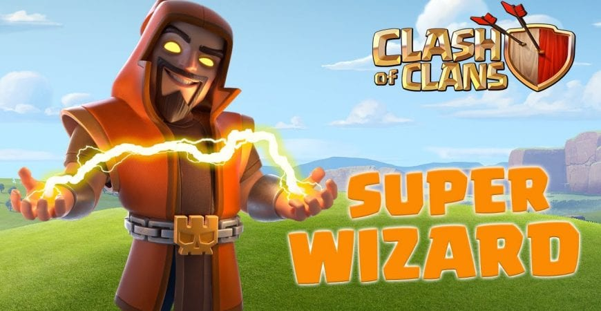 SUPER WIZARD's Chain Magic! (Clash of Clans) by Clash of Clans