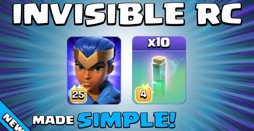 10 x INVISIBILITY SPELLS + ROYAL CHAMPION = WOW!!! TH13 Attack Strategy | Clash of Clans by Sir Moose Gaming