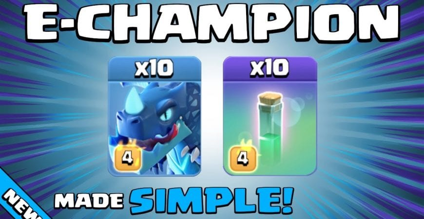 10 x E-DRAGONS + 10 x INVISIBILITY SPELLS = WOW!!! TH13 Attack Strategy | Clash of Clans by Sir Moose Gaming