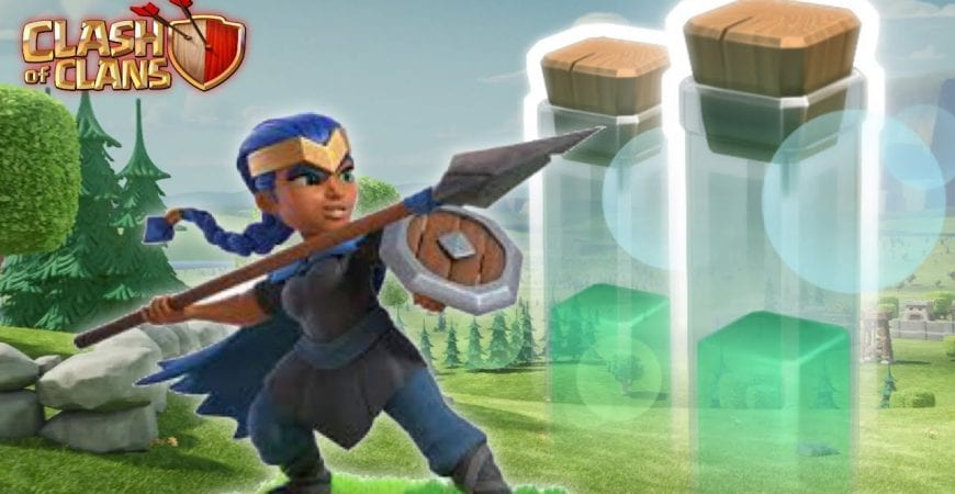 Invisibility Spell + Royal Champion | Clash of Clans by Bisectatron Gaming