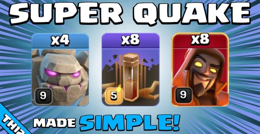 4 x GOLEMS + 8 x SUPER WIZARDS = SO STRONG! TH12 Attack Strategy | Clash of Clans by Sir Moose Gaming