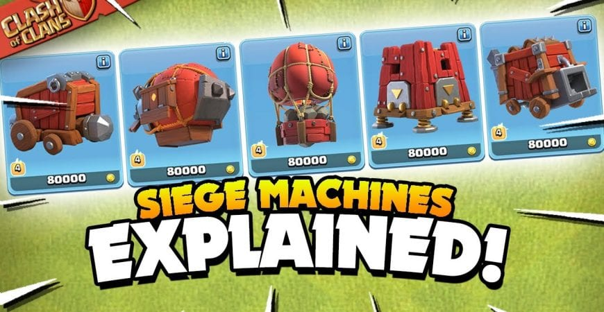 All 5 Siege Machines Explained – Basic to Advanced Guide (Clash of Clans) by Judo Sloth Gaming