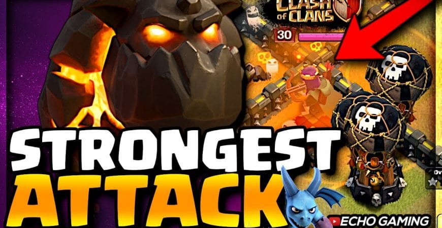 This is the ONLY Strategy you need to WIN the ENTIRE War – Clash of Clans by ECHO Gaming