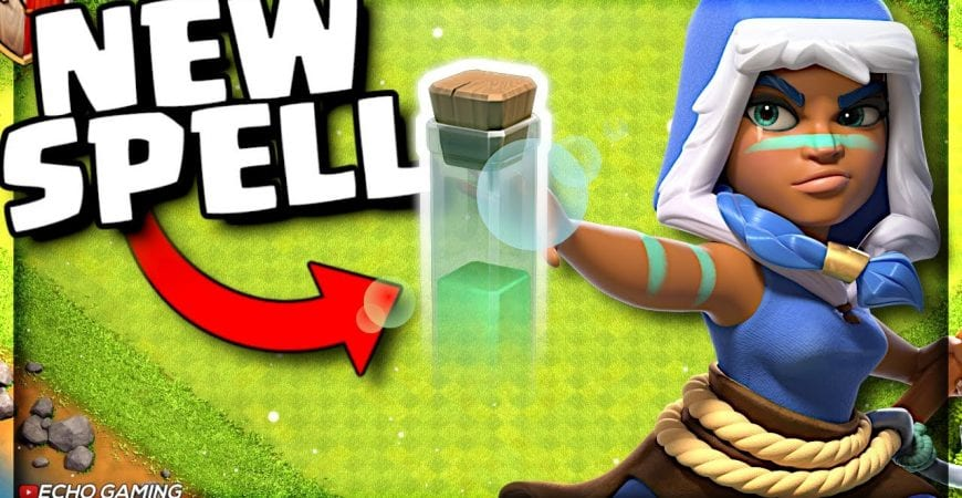 NEW Invisibility Spell – Clash of Clans Winter Update Details by ECHO Gaming