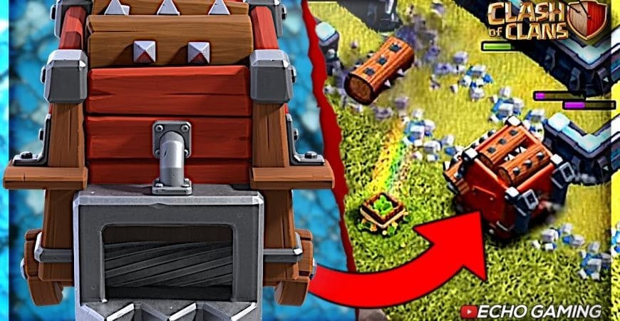 The Newest 5th Siege Machine Revealed – Log Launcher by ECHO Gaming