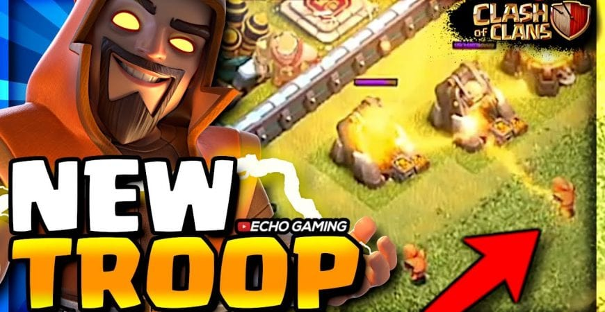 Brand NEW Troop Revealed! Super Wizard gameplay – coming this Winter Update by ECHO Gaming