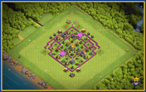 TOWN HALL 7 TROPHY BASE